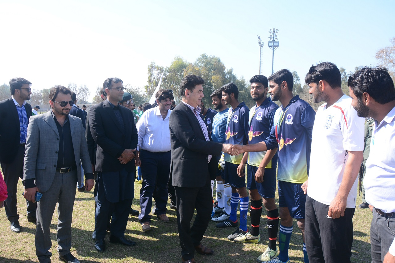 USL is Meant for Cultural & Academic Exchange Through Sports: Tariq Hameed