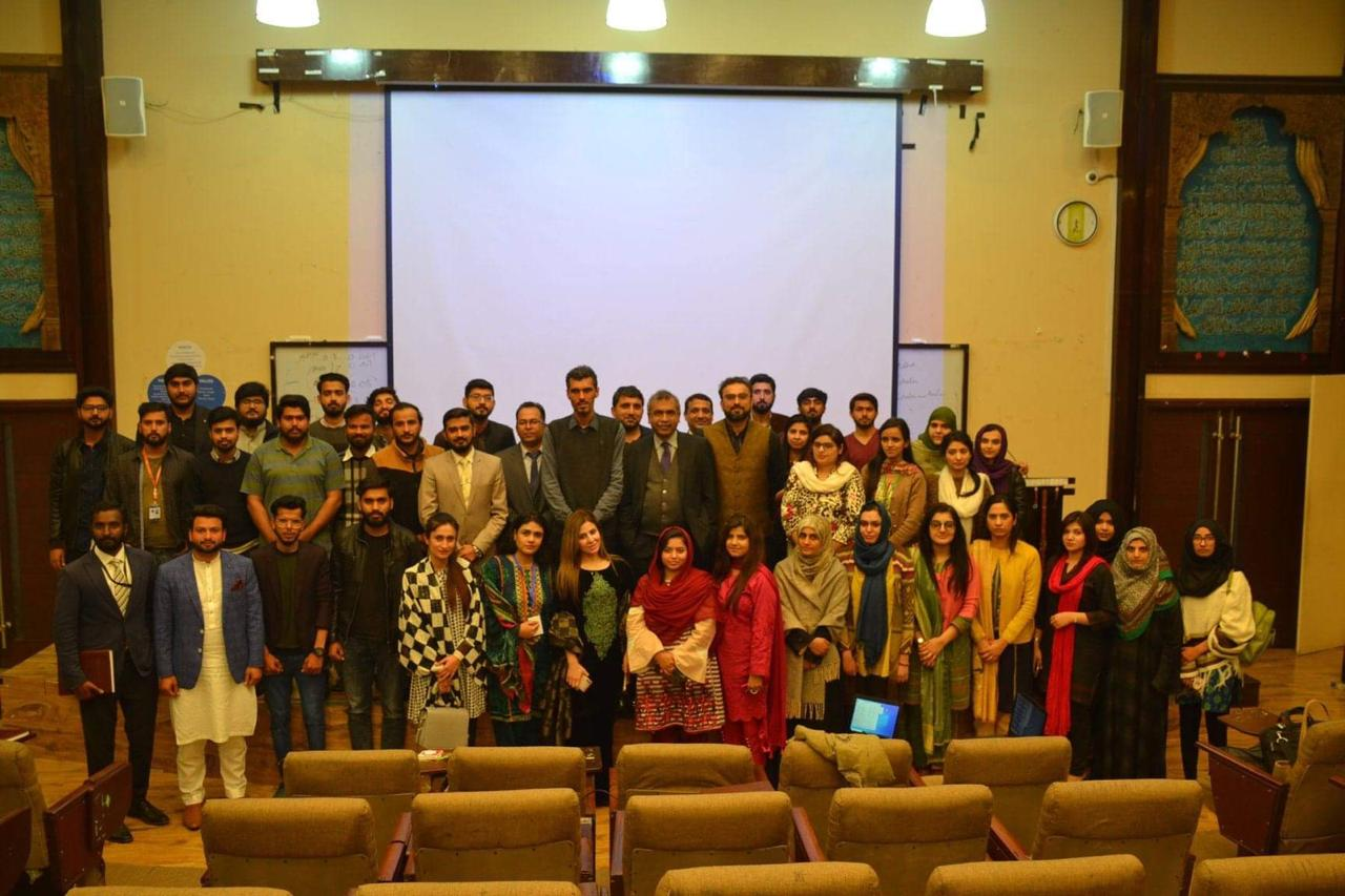 2-Day Training Workshop on Nvivo and SPSS at University of Lahore.
